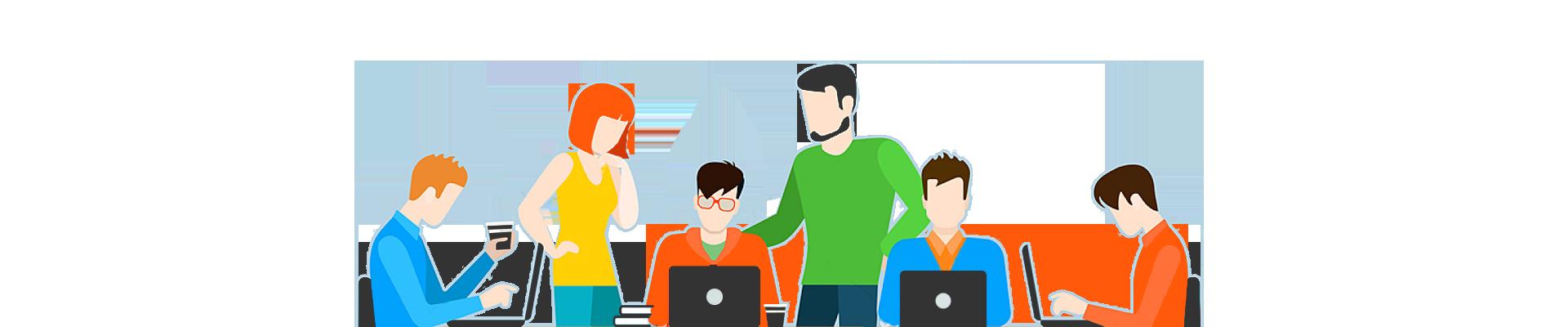 web-agency-team-work