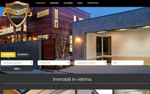 Realizzazione sito web Mercogliano Immobiliare
